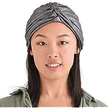 Casualbox | Twist Plisado Turbante Bandana Árabe Indio Moda Quimio Sombrero