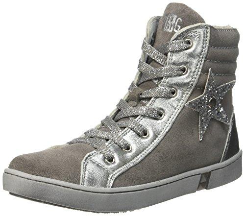 Primigi Marilu', Sneakers Alti Bambina , Grigio (Gris (Grigio/Allumini)), 33