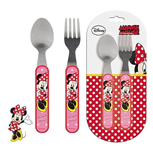 Minnie - Set de couverts en inox