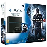 Console PlayStation 4 1 To Jet Black + Uncharted 4