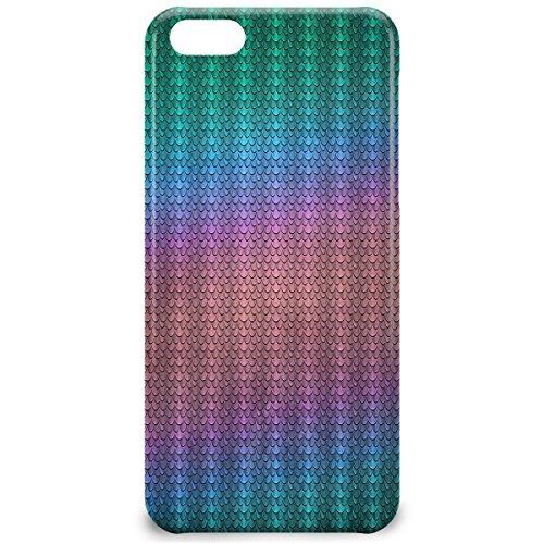 Queen Of Cases Coque pour Apple iPhone 5C-Irisé Dragon Balance-Premium en plastique bleu