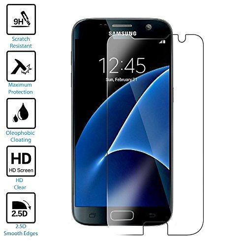 PRESTiQ Touch Samsung Galaxy S7 Panzerglasfolie /Handy-Schutzfolie in hoher Qualität mit Hartglas | Härtegrad 9H | 0,33mm Dick für optimalen Schutz | Displayschutzfolie für das Samsung Galaxy S7