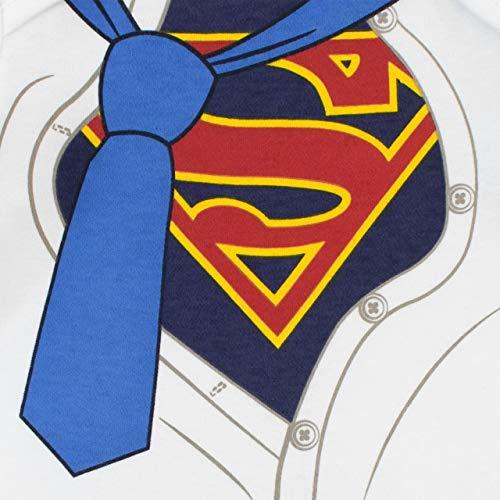 35bab0e04 DC Comics Pijama Entera para Niños Bebés Superman Azul 9-12 Meses ...