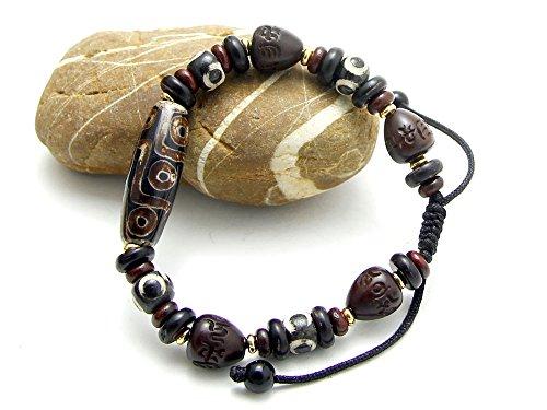 bp007-agathe-creation-tibetisches-glcksbringer-armband-besteht-aus-steinen-dzi-achat-terra-mahagoni-