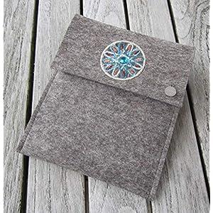 zigbaxx eReader Hülle MAROC Case Sleeve Filz u.a. für Kindle, Kindle Paperwhite, Kindle Oasis 3-2020/2019/2018…