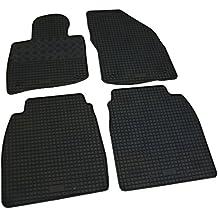 Fußmatten Auto Autoteppich für Honda Civic 8 VIII FN FK 2006-2011 Velours Set