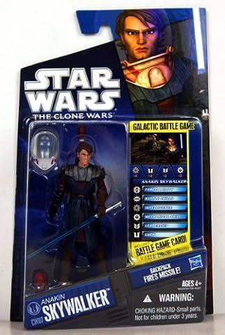 Star Wars - 98359 - The Clone Wars - Galactic Battle Game - Action Figur - CW07 - Anakin Skywalker (ca. 10 cm / 3 3/4