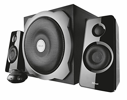 Trust 19019 - Altavoces 2.1, con subwoofer, color negro