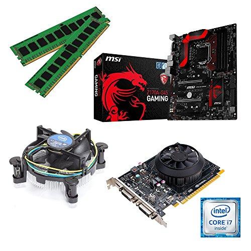 one Aufrüstkit · Intel Core i7-6700K, 4 x 4.00GHz · 2 GB NVIDIA GeForce GTX 1050 · 16 GB DDR4 RAM · MSI Z170A Gaming · Skylake · Aufrüstset · Mainboard Bundle · PC Tuning Kit