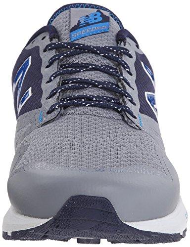 New Balance Men's MT690V1 Trail Shoe Steel,Abyss,Sonar
