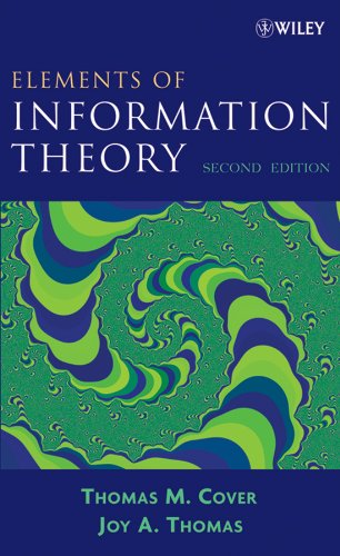 Elements of Information Theory (English Edition) por Thomas M. Cover