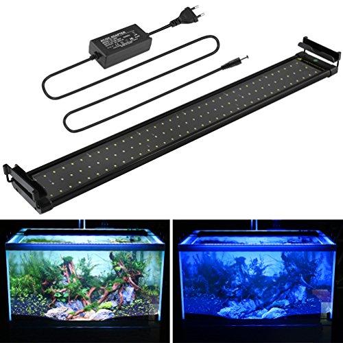 MAINLICHT 70-90 cm éclairage Aquarium Leds 90 Blanc +...