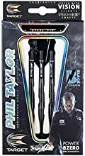 Target Power Phil Taylor 8zero Black Titanium Steel Tip Dardos