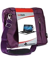 "Navitech sacoche besace violet pour Lenovo G50 15.6"" / Lenovo B50-30 Laptop / Lenovo X1 Carbon (2nd Gen) / Lenovo X1 Carbon (3rd Gen)"