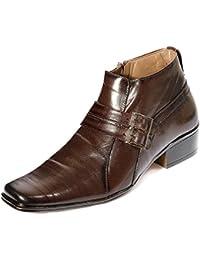 Kivalo Stylish Premimum Genuine Leather Elegant Brown Slip On/Formal Shoe For Men