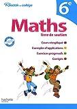 Image de Maths livre de soutien 6e