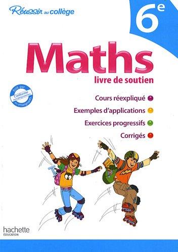 Maths livre de soutien 6e