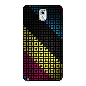 Neo World Disco Lightd Back Case Cover for Galaxy Note 3
