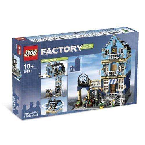 LEGO 10190 MARKET - Corner Cafe Lego