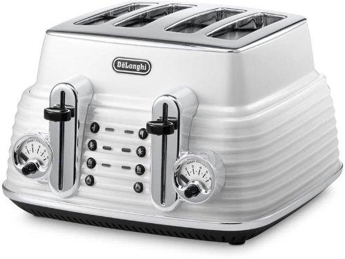 DeLonghi CTZ 4003.W Scultura Toaster