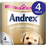 Andrex Natural Pebble Toilet Tissue 4 per pack