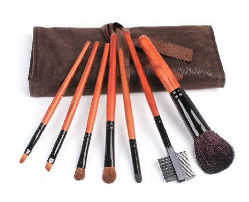 al Tier Wolle Make-up-Tools Soft-Rosshaar-Bürsten mit Etui (Make-up-bürsten Rosshaar)