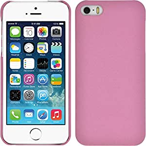 PhoneNatic Apple iPhone 5 / 5s / SE Hülle rosa vintage Hard-case für iPhone 5 / 5s / SE + 2 Schutzfolien