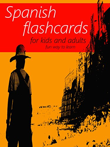 Spanish flash cards book learning language for kids and adults spanish flash cards book learning language for kids and adults best way to learn fandeluxe Choice Image