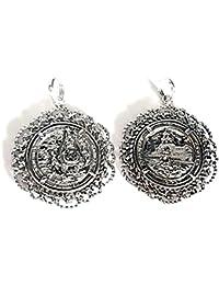 70b220664485 Colgante plata ley 925m 35mm. medalla Virgen Cabeza  AA8487