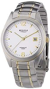 Regent - 11160197 - Montre Homme - Quartz - Analogique - Bracelet Acier Inoxydable Multicolore