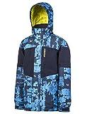 Protest Duster Jacke Ski, Kinder XXL Blau (Estampado)