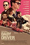 Close Up Baby Driver Poster Kevin Spacey & Ansel Elgort. (61cm x 91,5cm)