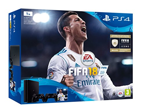 PlayStation 4 (PS4) - Consola de 1 TB, 2...