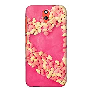 DailyObjects Heart Of Hearts Case For HTC Desire 620