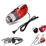 HORSEWAY PASSIONERA Ll Place Usable Plastic 1000W Inflator and Deflator Vacuum Cleaner for Home (Standard Size, Red)