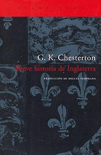Descargar Libro Breve Historia De Inglaterra (El Acantilado) de G.K. Chesterton