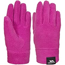Trespass Lala II–Los niños de forro polar guantes, Infantil, color rosa, tamaño Size 5/7
