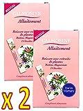 LAUDAVIE Calmosine - CALMOSINE Allaitement - Boisson aux extraits de plantes Biotine, magnesium - POUR les MAMANS - Lot de 2 Boites de 14 dosettes de 5 ml