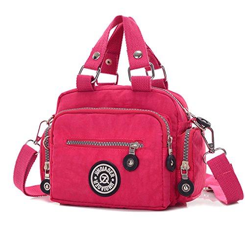 343fe558a8 MeCooler Sac bandoulière Femme Sac Porté épaule Mallette Sac Besace Cabas  Sport Bag Imperméable Sacoche de