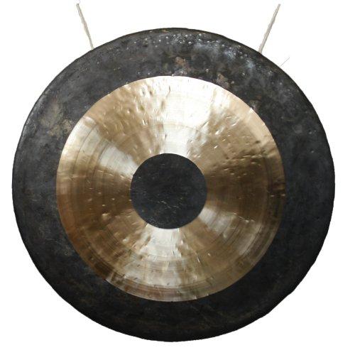 Klangschalen-Center TamTam Gong/Whood Chau Gong 70 cm, inklusiv Holz-/Baumwollklöppel -7022-L