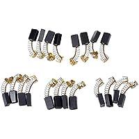 Escobillas de carbon del motor - SODIAL(R)20 pzs Reparacion de herramientas electricas 15mm x 10mm x 6mm Escobillas de carbon del motor