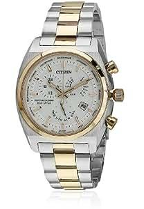 Citizen Eco-Drive Analog White Dial Men's Watch BL8134-58A