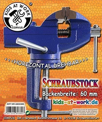 No Name (foreign brand)) Kids at Work Schraubstock groß 60mm A600380