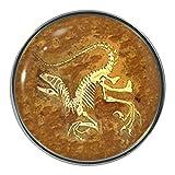 Anstecknadel Fossil-Design Metall-Pin-Badge