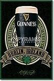 eLITe Guinness Logo Pint Dublin Irland große Werbung Art