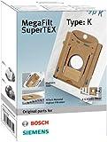 Bosch BBZ 41 FK Sacs Aspirateurs MegaFilt SuperTex Type K