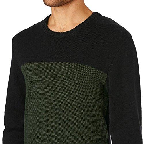 Volcom Herren Pulli Antys Crew Sweater Schwarz