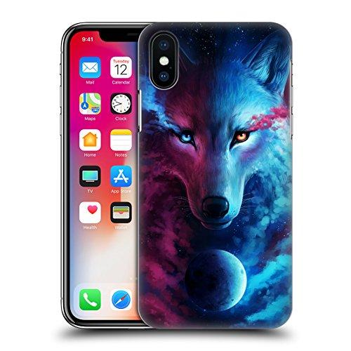 Ufficiale Jonas jojoesart Jödicke Lupo Galassia Animali Selvatici Cover Retro Rigida per Apple iPhone 6 / 6s Lupo Galassia