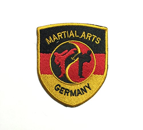 Aufnäher Martial Arts Germany 10 x 8 cm - 8 X 10 Art
