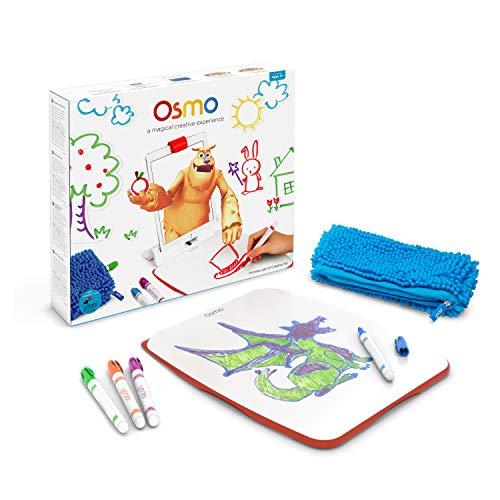 OSMO TP-OSMO-09 Creative Set-3 praxisorientierte Lernspiele-Von 5 bis 10 Jahren-Kreatives Zeichnen und Problemlösung/Frühe Physik-Mint-für iPad und Fire Tablet Basis Wird benötigt, exklusiv bei Amazon